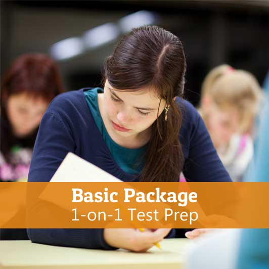 1-on-1-Test-Prep-Basic-Package