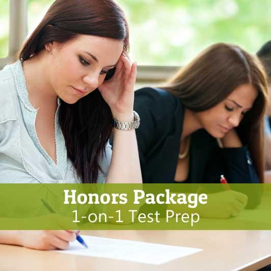 1-on-1-Test-Prep-Honors-Package