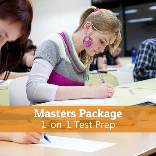 1-on-1-Test-Prep-Masters-Package